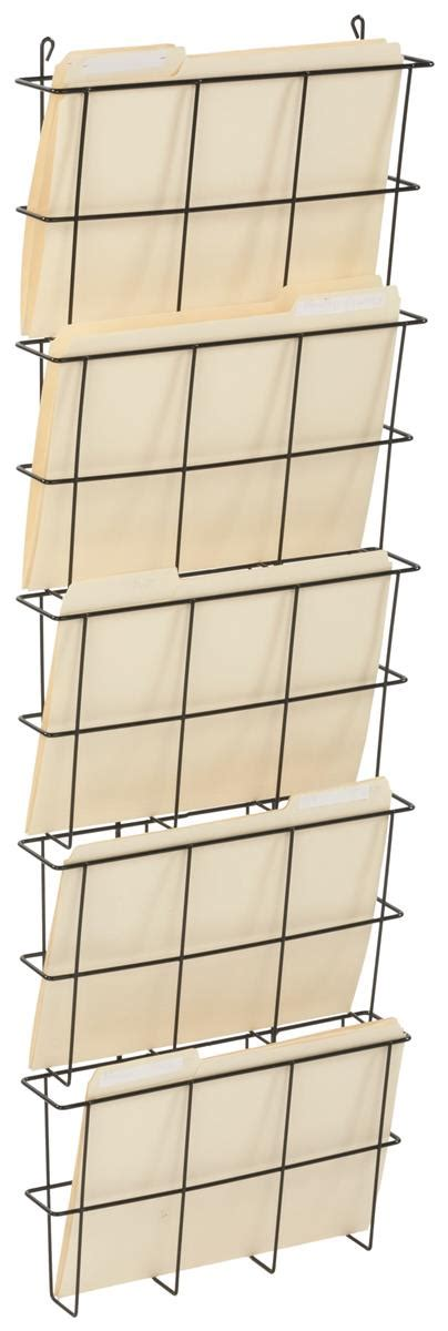 Wall Hanging Holder   Metal Mount for Files