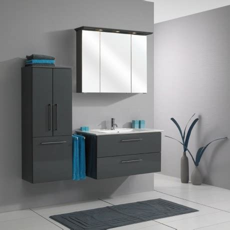 high gloss grey bathroom cabinets pelipal bathroom furniture talea 1050mm stone grey high