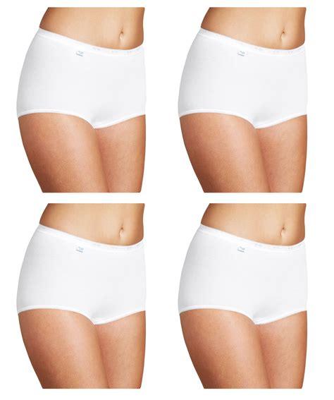 Breefa Maxi 1 S Sloggi Basic Maxi Briefs 4 Pack White Sizes