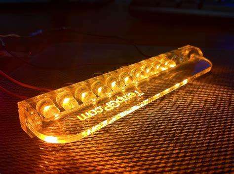 How To Make Led Light Bulbs Diy Led Turn Lights Bmw Style