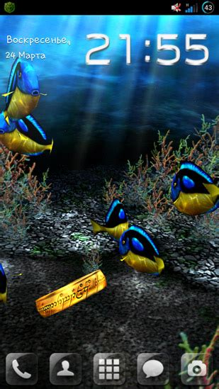 wallpaper 3d mein my 3d fish f 252 r android kostenlos herunterladen live