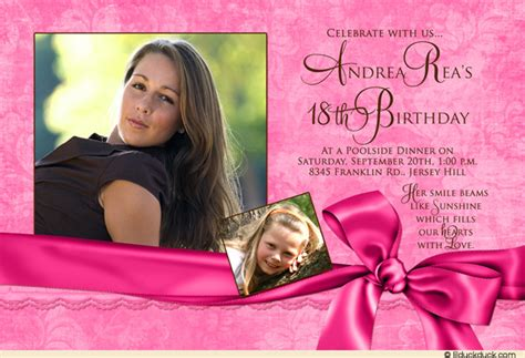 Invitation Letter For 18th Birthday 18th Birthday Invitation Maker And How To Make Your Own