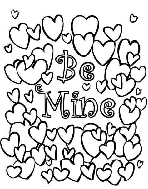valentines gifts for coloring book as a valentines day gift for nature themed valentines day gifts for or books be mine coloring page coloring book