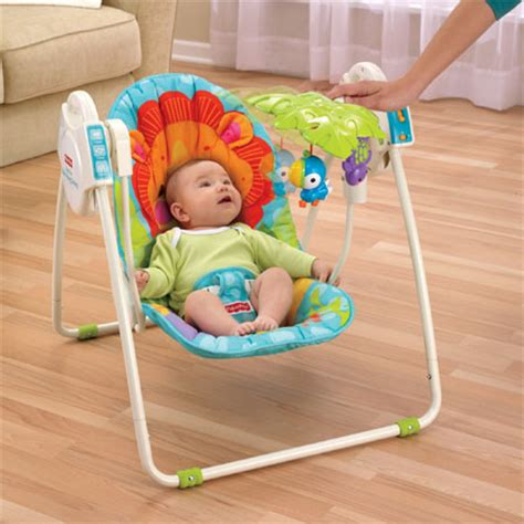 baby portable swing blue sky portable baby swing can provide comfort and