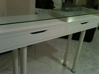 ekby alex desk 17 best images about ekby on pinterest make up storage