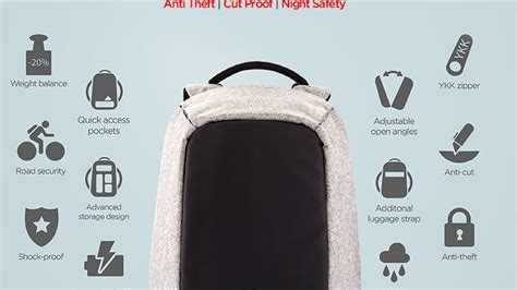 Ryden Anti Theft Back Pack Original Tas Anti Maling bobby the best anti theft backpack by xd design by xd