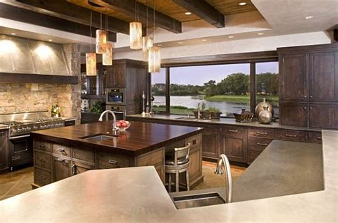 amazing kitchens 5 amazing kitchens with stunning views