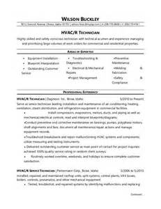 Hvac Technician Resume Samples hvac technician jobs by making sure your hvac technician resume fully