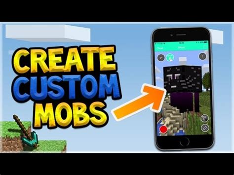 Design Your Own Custom Pocket - create your own custom mobs in minecraft pocket edition