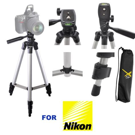 Tripod Nikon D3200 50 quot photo tripod for nikon d3000 d3100 d3200 d3300 d5000