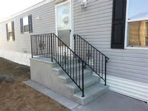 mobile home stairs for mobile home stairs 15 photos bestofhouse net 9654