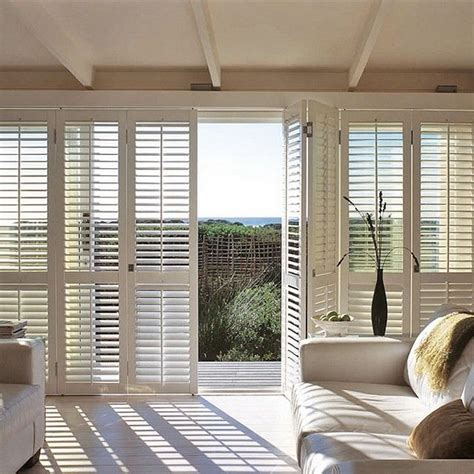 Sliding Shutters For Sliding Glass Doors Best 25 Plantation Shutter Ideas On Kitchen Shutter Blinds Sliding Door Shutters