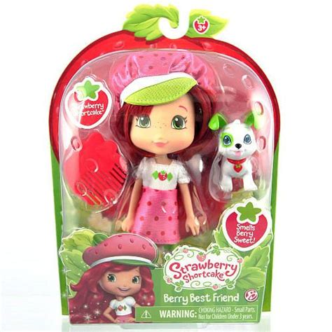6 inch fashion dolls strawberry shortcake 6 inch fashion doll with pet