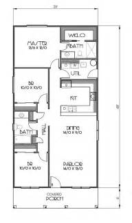 3 Bedroom House Plans Sq Ft House Plans
