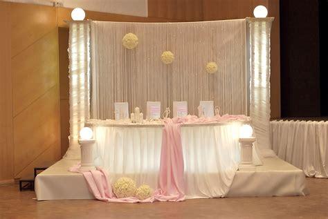 Brauttischdeko Kaufen by Hochzeitsdeko In Creme Rosa T 246 Nen Hier Der Brauttisch Mit
