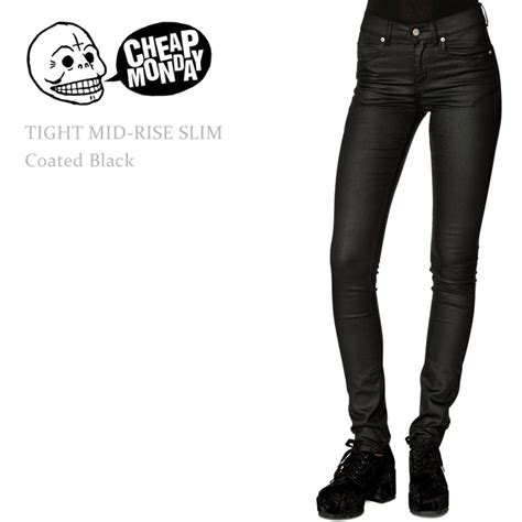 Cheap Monday By Ags Denim 楽天市場 sale cheap monday チープマンデー tight mid rise slim