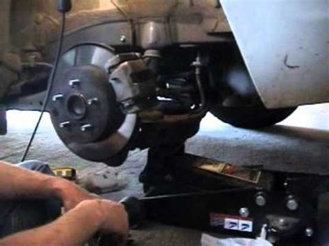 repair anti lock braking 2007 toyota tacoma parking system how to change replace rear brake pads on a 2008 08 toyota rav4 rav 4 diy tutorial install fix