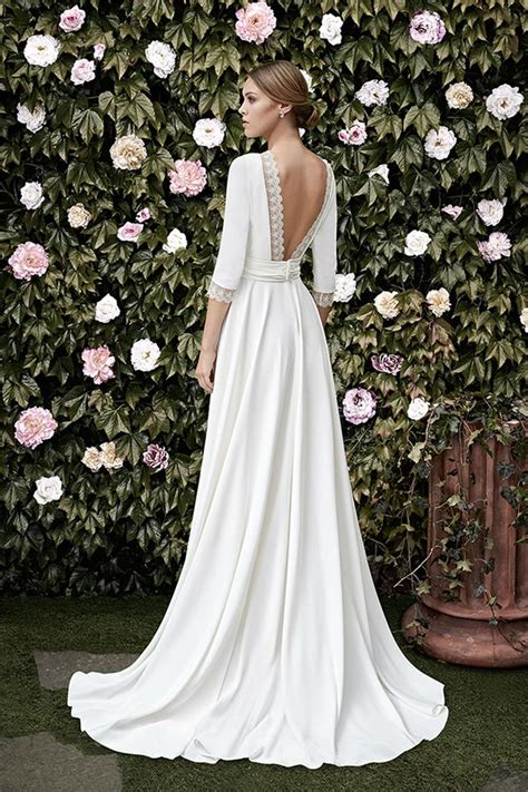 desain dress simple elegan simple elegant wedding dresses oasis amor fashion