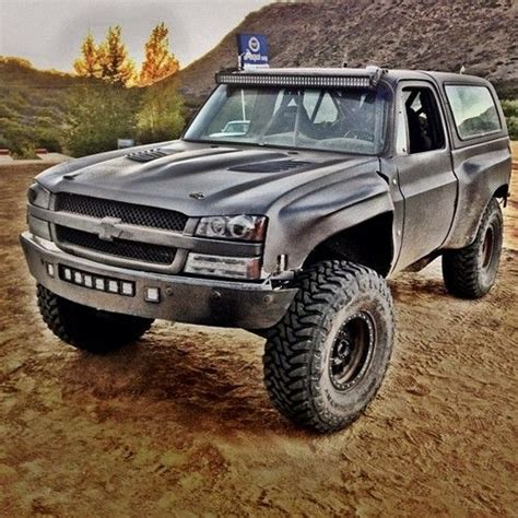 prerunner blazer bj baldwins back upi testing vehicle crazy bronco