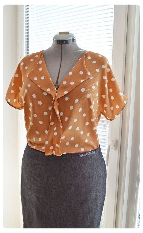 Beatrix Polka Pattern Blouse 417 best sew sleeve tops wovens images on