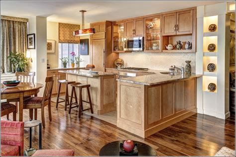 full image for superb honey oak cabinets with dark wood honey oak cabinets what color granite home design ideas