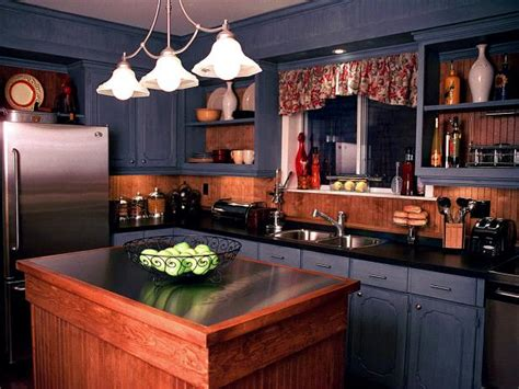 Painted Kitchen Cabinet Ideas: Pictures, Options, Tips