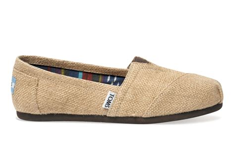 tom shoes burlap s classics toms 174