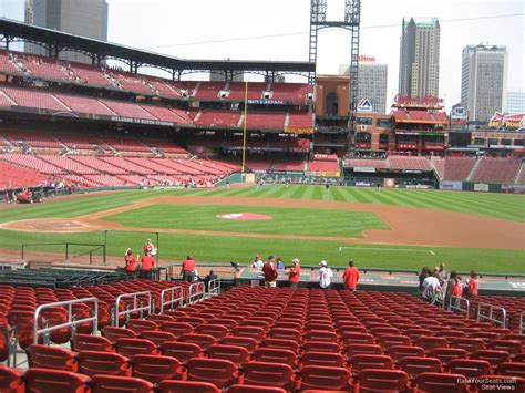 what is section 144 busch stadium section 144 rateyourseats com