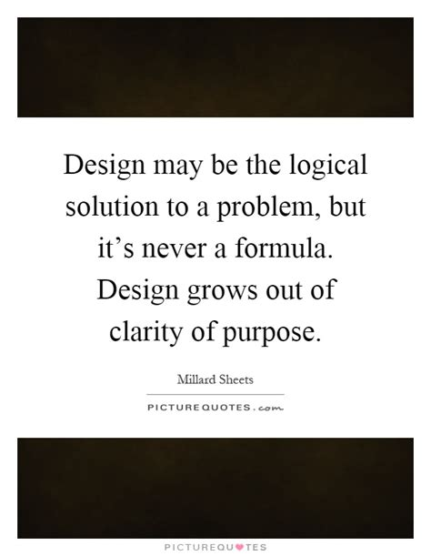 design is a solution to a problem millard sheets quotes sayings 6 quotations