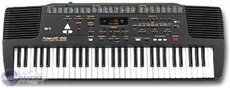 Keyboard Roland E 38 e 28 roland e 28 audiofanzine