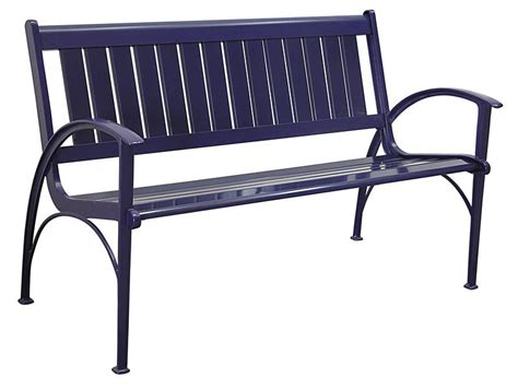 contemporary metal park bench outdoor bench