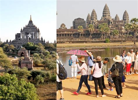 Lu Siem angkor wat bagan to be tourist cities the myanmar times