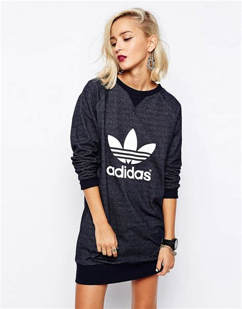 Robe Sweat Adidas Fille - robe sweat adidas