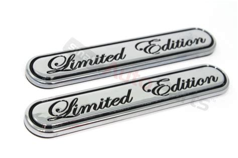 Emblem Limited Crome By Geazstore chrome special limited edition emblem for car truck suv