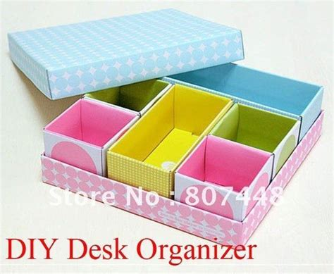 How To Make A Desk Out Of Paper - diy desk organizer and easy diy