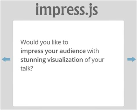 Impress Js Presentation Framework Based On Css3 Jquery Impress Js