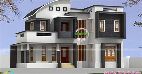2813 sq ft 4 bhk modern home kerala home design and floor plans 2314 sq ft 4 bhk modern curved roof mix home kerala home design and floor plans