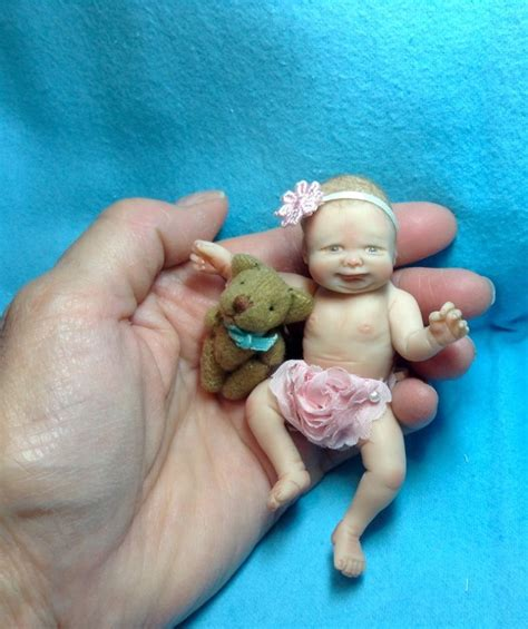 ooak doll guild ooak polymer clay miniature baby doll original