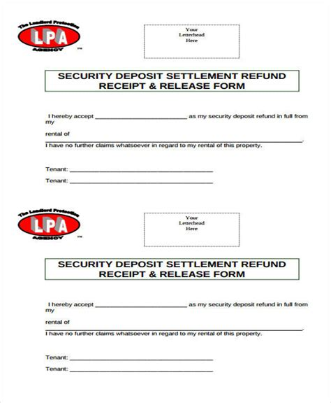 landlord rental receipt template 39 free receipt forms sle templates