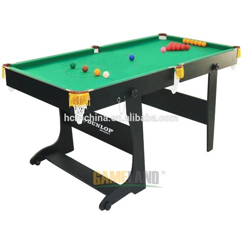 foldable pool table with wooden folding legs snooker