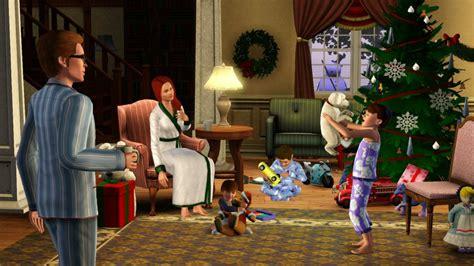 sims 3 weihnachten download weihnachtliche einfach tierisch bilder ea uk simtimes