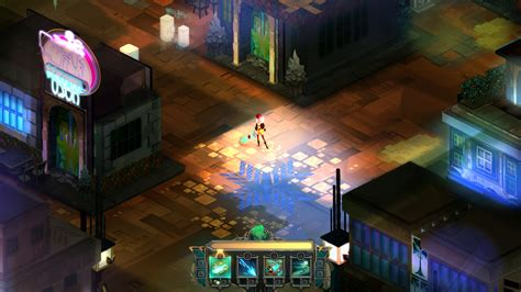 transistor gameplay is review transistor
