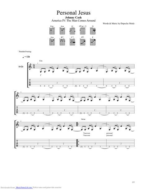 Guitar Chords Johnny Cash