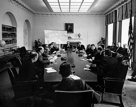 Kennedy Cabinets by Cabinet Meeting 10 12am F Kennedy Presidential