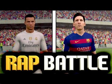 lionel messi vs ronaldo rap battle messi vs ronaldo rap