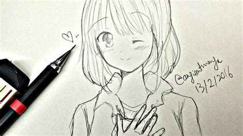 A Anime Drawing by Drawing And How To Draw A And
