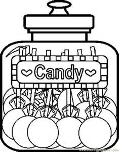 candy coloring pages for kids coloring home