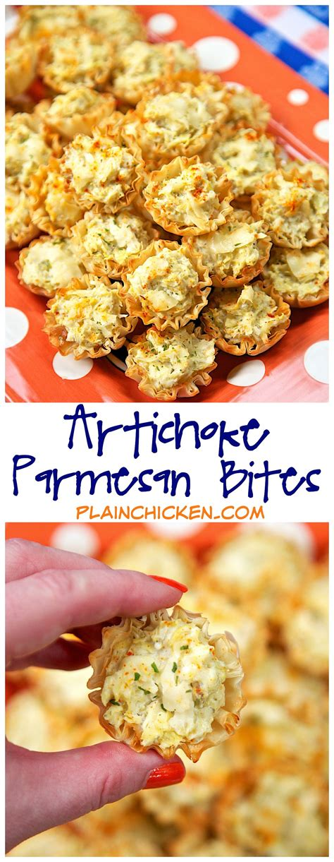 artichoke parmesan bites   ingredients     time  refrigerate  freeze