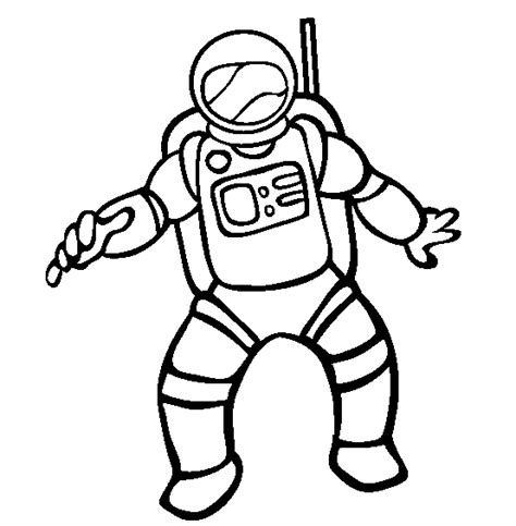 Astronauts Coloring Astronaut Colouring Pages