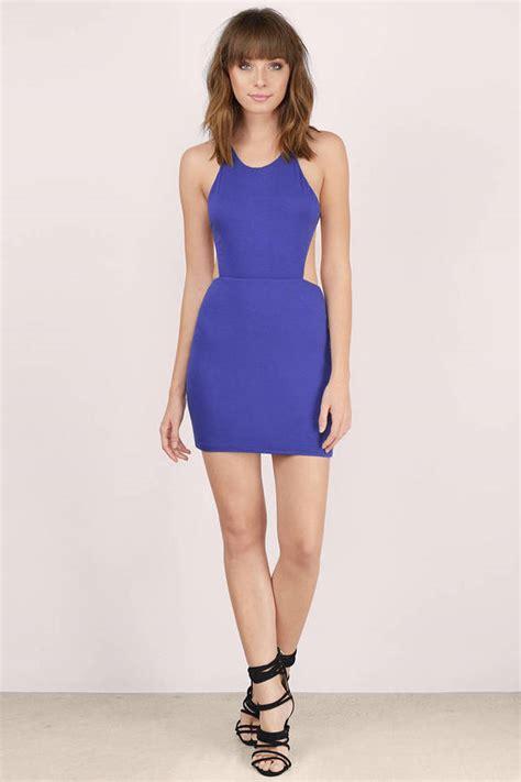 Id 2298 Blue Bodycon Dress cheap blue bodycon dress cut out dress bodycon dress